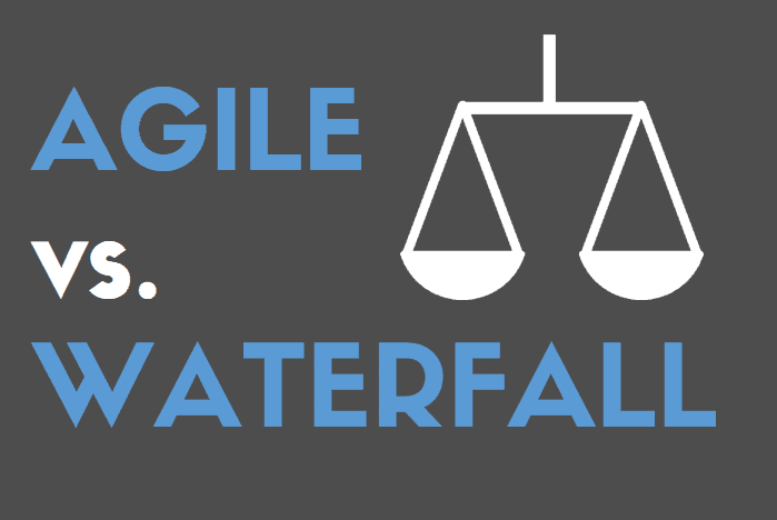 Graphic of Agile vs. Waterfall
